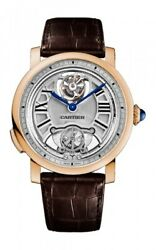 Rotonde de Cartier Minute Repeater Flying Tourbillon Men's Watch
