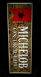 Vintage Michelob On Draught Lighted Beer Sign