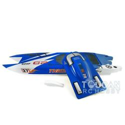 1305mm E52 Bumblebee Electric Racing Rc Boat Model Kit Hull Only Diy Hobby Blue