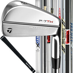 Taylormade P7tw Forged Custom Steel Irons - Pick Your Shaft And Flex