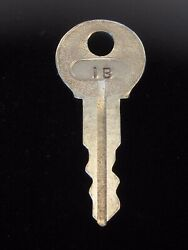 Ignition Switch Key 1b From Remy Series 1a-4cx, 1920's Vintage Olds Auburn