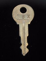 Ignition Switch Key 2bx From Remy Series 1a-4cx, 1920's Vintage Olds Auburn