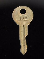 Ignition Switch Key 3ax From Remy Series 1a-4cx, 1920's Vintage Olds Auburn