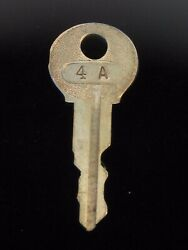 Ignition Switch Key 4a From Remy Series 1a-4cx, 1920's Vintage Olds Auburn