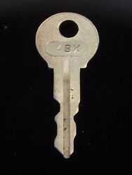 Ignition Switch Key 4bx From Remy Series 1a-4cx, 1920's Vintage Olds Auburn