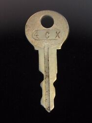 Ignition Switch Key 4cx From Remy Series 1a-4cx, 1920's Vintage Olds Auburn