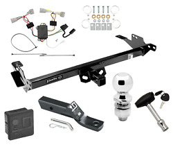 Trailer Tow Hitch For 08-12 Toyota Hilux Deluxe Package W/ Wiring 2 Ball And Lock