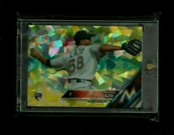 Raudel Lazo Topps Chrome Sapphire Edition Gold Refractor Rc 1/5 1/1 Marlins