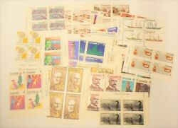 🍁 Canada Lot of 20 Plate Blocks Mint Never Hinged MNH from the 1970s #2397