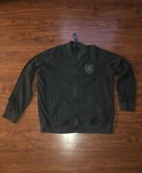 Polo Zip Up Jacket Skull And Bones New York Rugby 2xl Xxl 267.00