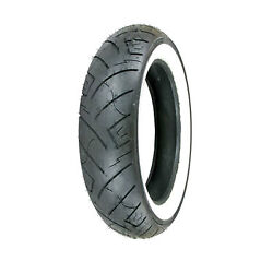 130/90b-16 73h Shinko 777 H.d. Front Motorcycle Tire White Wall