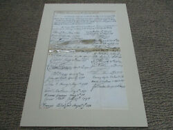 Dated 1790 A Roll For Attorneys Sworn In The Supreme Court Signatures Document