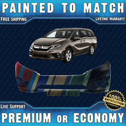 New Painted To Match - Front Bumper Cover For 2018-2020 Honda Odyssey Van 18-20