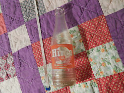 Hires Root Beer 8 Oz. Glass Soda Bottle Clean Graphics Roots-barks-herbs