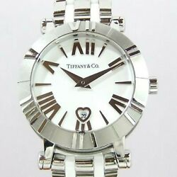 And Co. Atlas Z130.11.11a20a00a White Stainless Womenand039s Watch Used [b0731]