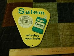 Rj Reynolds [winston-salem] Refreshes Your Taste Wall Thermometer Metal Sign