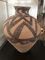 An Exceptional, Large Ancient Chinese Prehistoric Terracota Vase 3000 Bc Art