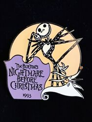 Disney Countdown To The Millennium 72 Nightmare Before Christmas 1993 Jack Pin