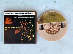 The Cannonball Adderly Quintet Original 7 Reel Tape