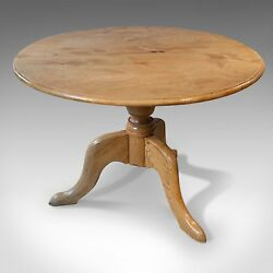 Mid-Century Dining Table, English, Elm, Four Seater, Centre, 20th Century