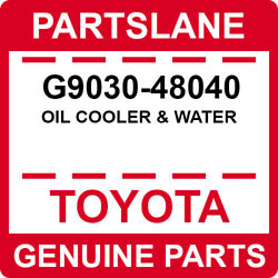 G9030-48040 Toyota Oem Genuine Oil Cooler And Water