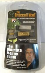 The Broccoli Wad Ultimate Money Band As Seen On TV Shark Tank Rare Collectible