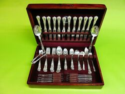 Buttercup By Gorham Sterling Silver Flatware Set - 78 Pieces Sterling Lion
