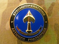Rare Authentic Cia Sog Seal Team 6 Operation Neptune Spear Challenge Coin