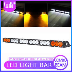 Super Slim Led Light Bar Dual Color Combo Off Road Lighting & Lamps 32.5'' 180W