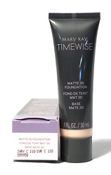 MARY KAY TIMEWISE MATTE 3D FOUNDATION~IVORY C 110!