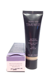 MARY KAY TIMEWISE MATTE 3D FOUNDATION~IVORY N 140!