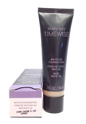 MARY KAY TIMEWISE MATTE 3D FOUNDATION~IVORY N 160!