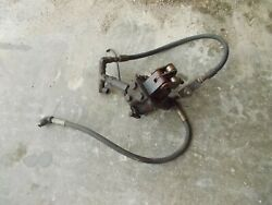 Allis Chalmers C Tractor Ac Hydraulic Pump Assembly W/ Hoses And Control Valve Kk