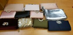 Lot of Designer Clutches and Wallets with Minor Damage $81.00