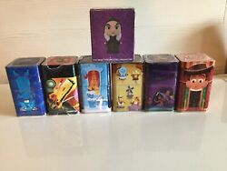 Funko Disney Mystery Minis 6 Tins With Figures Plus Evil Queen As Witch In Box