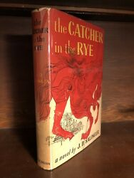 J. D. Salinger SIGNED FIRST EDITION Catcher in the Rye 1951
