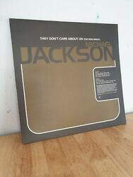 Michael Jackson The Dont Care About Us 12 Inch Vinyl Record Promo Randb Mixes