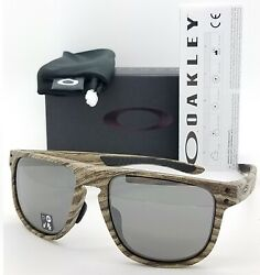 NEW Oakley Holbrook R sunglasses Walnut Prizm Black AUTHENTIC 9379 09 Asian Fit $99.95