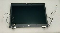 🔆 Hp Elitebook 2540p 12.1 Complete Lcd Full Assembly Top 3g Ready - Tested