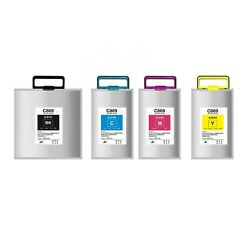 4PACK C869 Compatible Ink Bag With Chips for Epson Workforce PRO WF-C869R Series