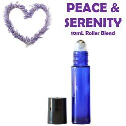 Peace and Serenity Calming Blend 10mL Essential Oil Roller Anxious/Stress/PTSD