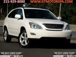 2007 Lexus RX 350 AWD 4dr AWD 4dr awd white tan rx350 330 cd player heated leather power trunk sunroof 1 o