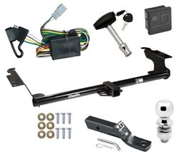 Trailer Tow Hitch For 99-04 Honda Odyssey Deluxe Package Wiring And 2 Ball And Lock