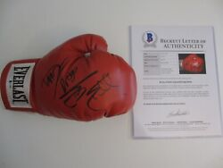 Sylvester Stallone And Dolph Lundgren Signed Boxing Glove Rocky 4 Bas Beckett Coa