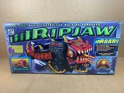Vintage 1999 Toymax Ripjaw Robosaur - Fire Missles - Remote Controlled Robot