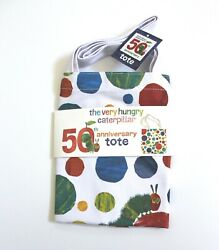 The Very Hungry Caterpillar 50th Anniversary Recycle Tote Bag White
