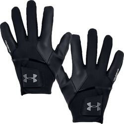 Under Armour Coldgear Infrared Leather Palm Winter Golf Gloves Pair