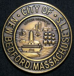 1847 - 1972 City Of New Bedford Massachusetts Past Future Whaling Medal