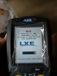 FIVE LXE MX9 BARCODE SCANNER. USED. INCLUDE TWO BATTERIES. NO AC POWER