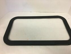Beckson Po714-wc-10 Opening Black 7x14 Portlight Window Frame Attachment Only